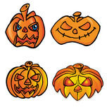 Pumpkin  set Stock Photography