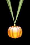 Pumpkin shaped bauble Stock Photography
