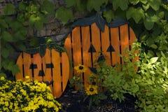 Pumpkin slats royalty free stock photo