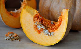 Pumpkin slice Royalty Free Stock Photo