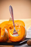 Pumpkin slices Stock Image