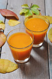 Pumpkin smoothie Royalty Free Stock Image