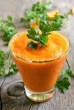 Pumpkin smoothie, juice Stock Image