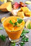 Pumpkin smoothie, juice Stock Images