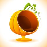 Pumpkin Sofa Royalty Free Stock Images