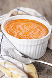 Pumpkin souffle Royalty Free Stock Photo