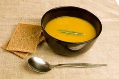Pumpkin soup Stock Photos