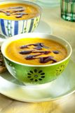 Pumpkin soup Royalty Free Stock Image