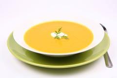 Pumpkin Soup Stock Image