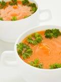 Pumpkin soup Royalty Free Stock Image