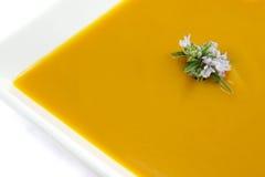 Pumpkin soup. Stock Photo