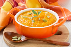 Free Pumpkin Soup Royalty Free Stock Photography - 39395187