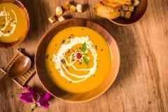 Pumpkin Soup NO.003 royalty free stock photography
