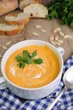 Pumpkin soup puree Stock Image