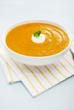 Pumpkin Soup Sweet Potato Carrot Royalty Free Stock Image