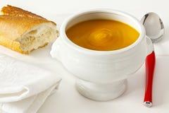 Pumpkin Soup Stock Photography