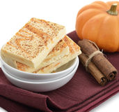 Pumpkin Spice Bars Stock Photography