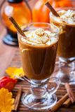 Pumpkin Spice Coffee Stock Photos