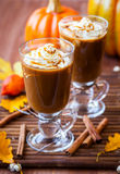 Pumpkin Spice Coffee Stock Images