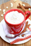 Pumpkin Spice Hot Chocolate Royalty Free Stock Photography