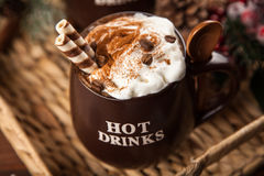 Pumpkin spice latte Stock Photography