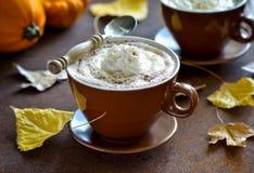 Pumpkin spice latte Stock Photos