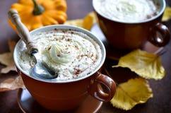 Pumpkin spice latte Stock Image