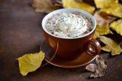 Pumpkin spice latte Royalty Free Stock Photo
