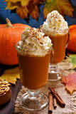 Pumpkin spice latte Stock Photos