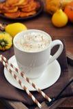 Pumpkin spice latte Stock Images