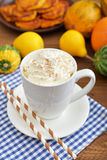 Pumpkin spice latte Stock Images