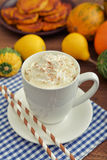 Pumpkin spice latter Stock Photo