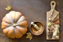 Pumpkin spice Stock Photos