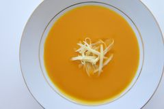 Pumpkin Squash soup Royalty Free Stock Photos