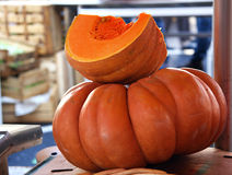 Pumpkin stack stock images