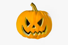 Pumpkin stare Stock Images