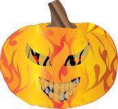 Pyro Pumpkin Royalty Free Stock Images