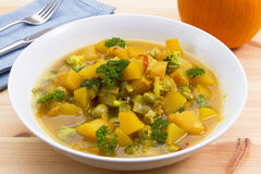 Pumpkin stew Royalty Free Stock Photo