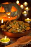 Pumpkin stew Royalty Free Stock Image