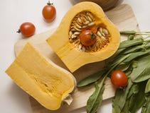 Pumpkin stew ragout ingredients Stock Photo