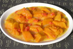 Pumpkin stew Stock Photography