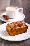 Pumpkin streusel cake Stock Image