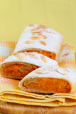 Pumpkin strudel Royalty Free Stock Images