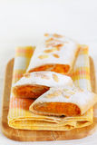 Pumpkin strudel Royalty Free Stock Photography