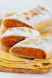 Pumpkin strudel Royalty Free Stock Image
