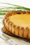 Pumpkin tart Royalty Free Stock Photography