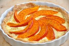 Pumpkin Tart Royalty Free Stock Image