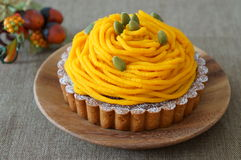 Pumpkin Tart Stock Images