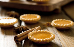 Pumpkin Tarts Royalty Free Stock Images