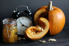 Pumpkin time Royalty Free Stock Photo